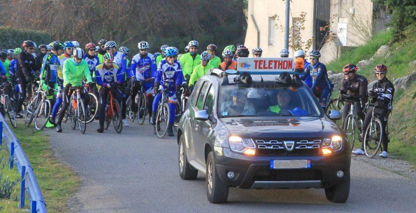 telethon teyran bike midi libre